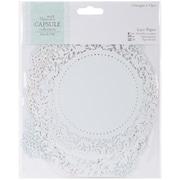 """Docrafts® Papermania Die-Cut Lace Paper Set, Eau De Nil, 5 1/2"""" x 5 1/2"""""""