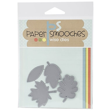 Paper Smooches Die, Large Leaves
