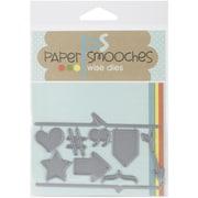 Paper Smooches Die, Cardbooking