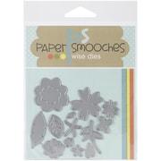 Paper Smooches Die, Flowers