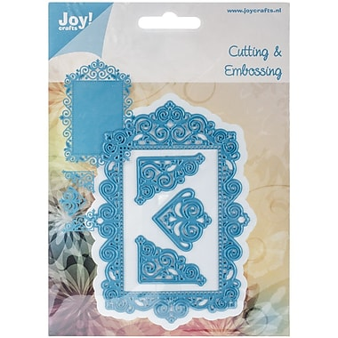Ecstasy Crafts Joy! Crafts Cutting And Embossing Die, Frame/3 Corners