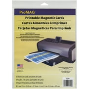"ProMAG® Printable Magnetic Cards, 2"" x 3 1/2"""