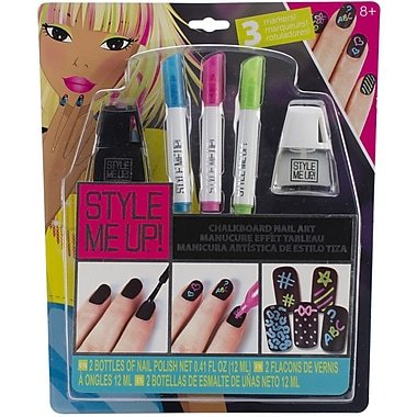 Wooky Entertainment Style Me Up! Chalkboard Nail Art Kit