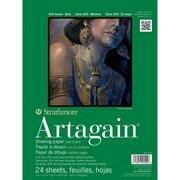 "Strathmore® Artagain® 60 lbs. Paper Pad, 9"" x 12"", Black"