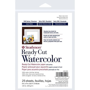 Strathmore® 140 lbs. Cold Pressed Watercolor Paper, 8