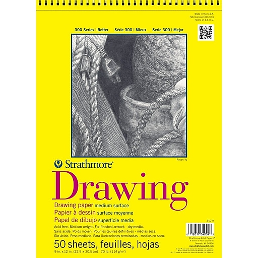 """Strathmore® 70 lbs. Drawing Paper Pad, 11"""" x 14"""""""