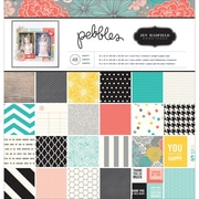 """American Crafts™ Pebbles Paper Pad, Homemade, 12"""" x 12"""""""