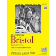 "Strathmore® 100 lbs. Vellum Bristol Paper Pad, 14"" x 17"""
