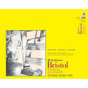 "Strathmore® 100 lbs. Smooth Bristol Paper Pad, 19"" x 24"""