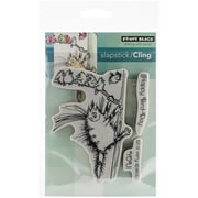 """Penny Black® Cling Rubber Stamp Sheet, 5"""" x 7.5"""", Bird-Day"""