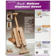 Martin Universal Raphael Deluxe Table Top Easel Painting Kit With Acrylic Color, Natural