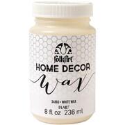 Plaid:Craft FolkArt 8 oz. Home Decor Wax Sealer, White
