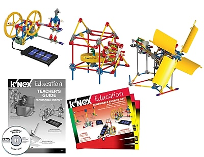 K'NEX Plastic Education Renewable Energy Building Set 7.63