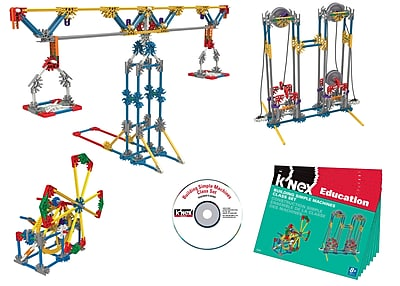 K'NEX Plastic Simple Machines Class Set 9.13