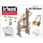 "K'NEX Plastic Simple Machines Deluxe Building Set 12.5"" x 20.25"""