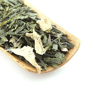 Tao Tea Leaf Ginger Sencha Green Tea, 42g Loose Tea