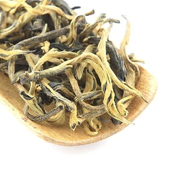 Tao Tea Leaf - Thé noir biologique Aiguille d'or, thé en vrac de 42 g
