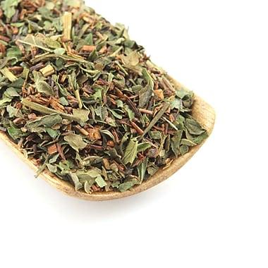 Tao Tea Leaf - Thé rooibos biologique, menthe poivrée, boîte de thé en vrac de 55 g