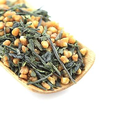 Tao Tea Leaf - Thé vert Genmaicha japonais biologique, 50 g de thé en vrac