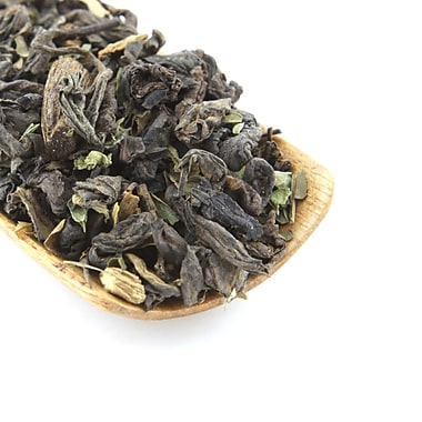 Tao Tea Leaf Organic Vanilla Mint Pu-er (Shou), 50g Loose Tea