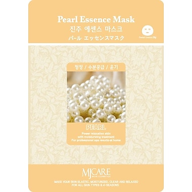Mj Care Pearl Essence Mask Sheet, 5/Pack