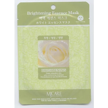 Mj Care Brightening Essence Mask Sheet, 5/Pack