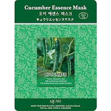 Mj Care Cucumber Essence Mask Sheet, 5/Pack