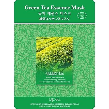 Mj Care Green Tea Essence Mask Sheet, 5/Pack
