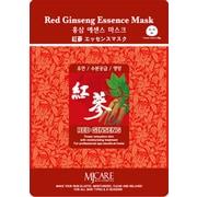 Mj Care – Masque tissu à base de ginseng rouge, 5/paquet