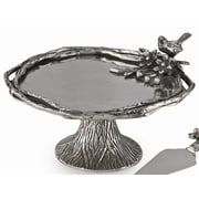 Star Home Bird and Branches Footed Cake Stand