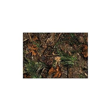 Custom Printed Rugs Wildlife Mixed Pine Novelty Outdoor Area Rug; 3'1'' x 4'4''