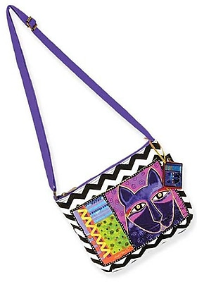 Laurel Burch Crossbody Bag With Zipper Top,