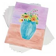 "S&S® 22"" x 30"" Student Watercolor Sheet, 25/Pack"