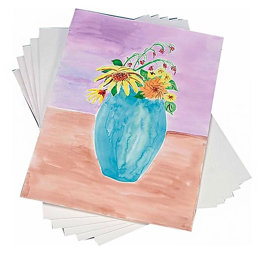 """S&S® 22"""" x 30"""" Student Watercolor Sheet, 25/Pack"""