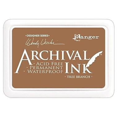Ranger AID-41443 Wendy Vecchi Designer Series Tree Branch Archival Ink Pad, 4
