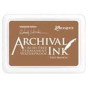 "Ranger AID-41399 Wendy Vecchi Designer Series Carnation Red Archival Ink Pad, 4"" x 2.75"""