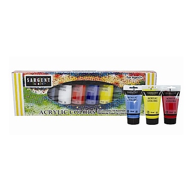 Sargent Art Non-Toxic Paint Tube Set (SAR230299)