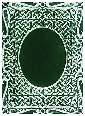 Spellbinders® M-Bossabilities™ 3D Embossing Folder, Oval Accent