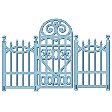 Spellbinders® Sapeabilities® D-Lites™ Die, Garden Gate
