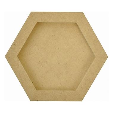 Kaisercraft Beyond The Page MDF Hexagon Frames, 6