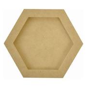 """Kaisercraft Beyond The Page MDF Hexagon Frames, 6"""" x 6"""" x 3/4"""""""