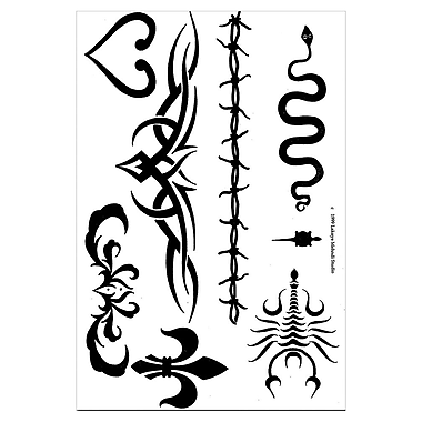 Earth Henna® Stencil Transfer Pack, Tribal Series