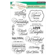 """Penny Black® 5"""" x 6 1/2"""" Clear Stamp, Special Wishes"""