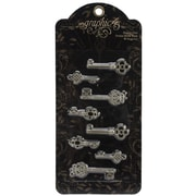 Graphic 45 Staples Ornate Metal Key, Shabby Chic
