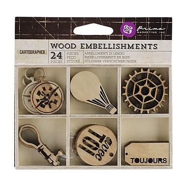 Prima Marketing™ Laser Cut Wood Icons, Cartographer