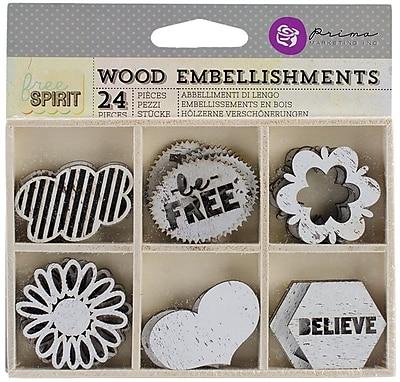 Prima Marketing™ Laser Cut Wood Icons, Free Spirit