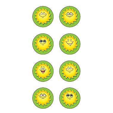 Teacher Created Resources Mini Sticker, Happy Suns Round (TCR5473)