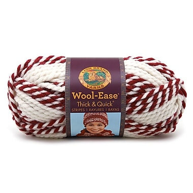 Lion Brand® Wool-Ease® Thick & Quick Yarn, Red Beacon