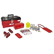 Bilingual Electrical Starter Kit, Electrical Lockout Starter Kit Tool Box With Contents