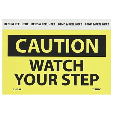 Caution, Watch Your Step, 3